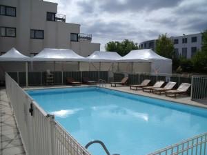 63m² linéaire autour piscine